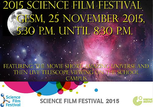 Science Film Festival 2015