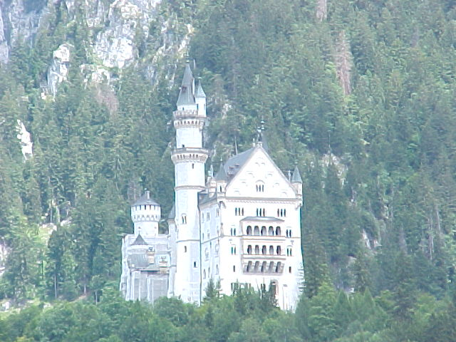 Berg Neuschwanstein; and yes, I know Neuschwanstein is NOT in Deutschland!